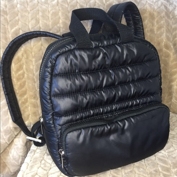 Mossimo Supply Co. Handbags - Mossimo Supply Co black quilted backpack bag .